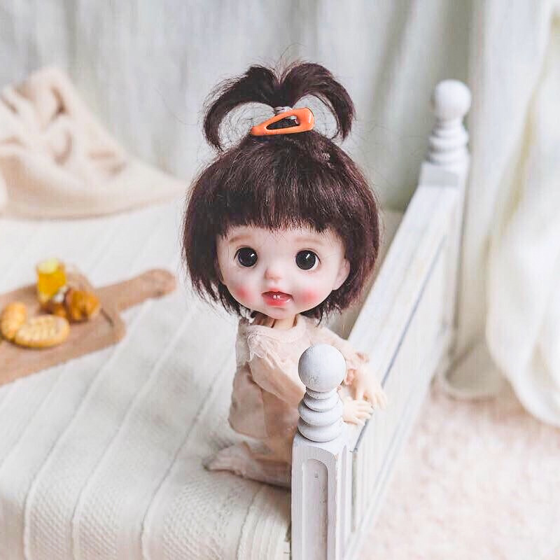 Bjd Doll 16cm Doll Ball Jointed Doll Baby 13 Joints BJD DIY Makeup Baby Doll Toys For Girls Naked Doll 3D Eyes Dolls For Girls