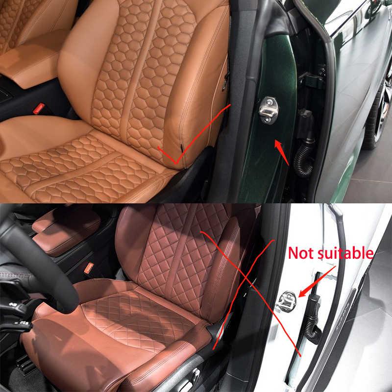 4 STUKS Auto Case Staal Deurslot Gesp Beschermkap Voor Volkswagen T-ROC Cross coupe GTE T-Prime Atlas EOS Amarok auto-styling