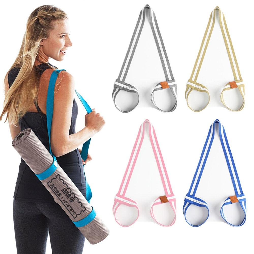 1PCS Adjustable Yoga Mat Strap Storage Belt Yoga Mat Bundle with Cotton Yoga Mat Strap 20