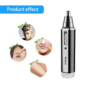 Image 4 - 4 in 1 Rechargeable Men Electric Nose Ear Hair Trimmer Painless Women trimming sideburns eyebrows Beard hair clipper cut Shaver