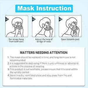 Image 5 - 30 шт., 3 слоя, одноразовые маски, анти грипп, маски для защиты от загрязнения, пылезащитные маски для ушей, нетканые маски для взрослых