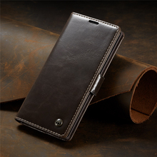 Leather Case For Samsung Galaxy S10 Note 10 S9 S8 Plus 9 8 S7 Edge Magnet Wallet Card Flip Book Case For Samsung S 10 9 8 Plus