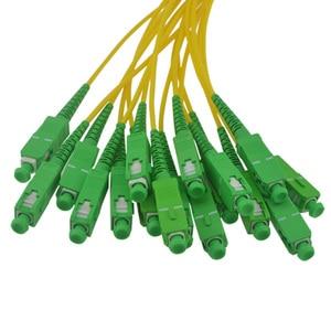 Image 2 - Scatola splitter in fibra ottica SC 1x16 1M SC APC 1X16 di alta qualità scatola splitter ottica ABS spedizione gratuita