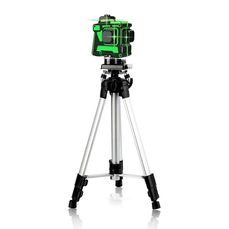 Для 12 линий зеленый лазерный уровень штатив 1,2 м/1,5 м Регулируемая высота утолщенный алюминиевый штатив подставка для самонивелирующегося 360|Лазерные уровни|   | АлиЭкспресс
