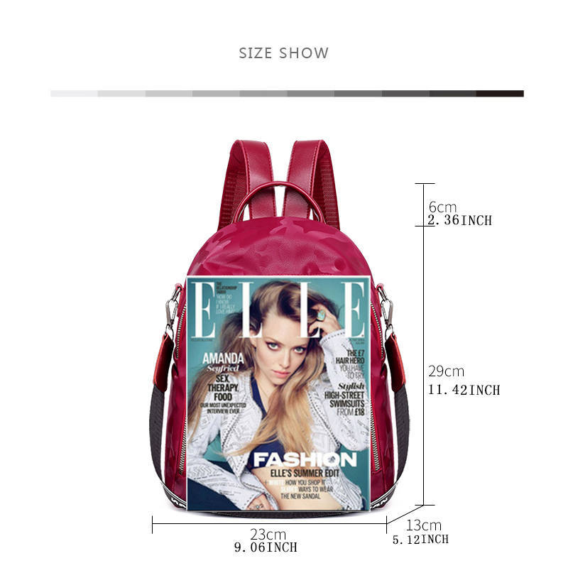 New Fashion Lady Bag Waterproof Women Backpack 2019 Hight Quality Vintage Backpacks Female Large Capacity Women 39 s Shoulder Bags in Backpacks from Luggage amp Bags
