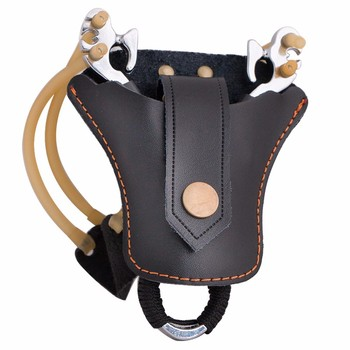 1pc Slingshot corium Stainless Steel Balls Bag Case Pouch Holster Sling Shot Hunting Sports Accessories шарики для рогатки 6