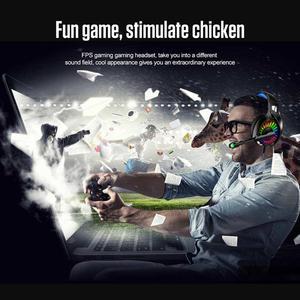 Image 5 - A20 PS4 Gaming Kopfhörer 4D Stereo RGB Festzelt Kopfhörer Headset mit Mikrofon für Xbox One/Laptop/Computer tablet Gamer