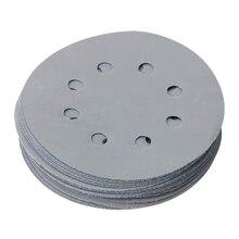 Оксид алюминия 3000 зернистость круглые шлифовальные диски наждачная бумага крюк петли шлифовальные диски наждачная бумага шлифовальная часть наждачная бумага для влажных и сухих работ Ass