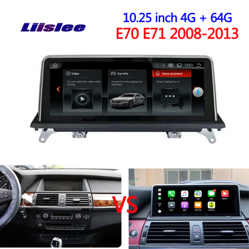For BMW X5 E70 X6 E71 2008 2009 2010 2013 Car radio Android multimedia player Car touch screen GPS Navigation Support Carplay