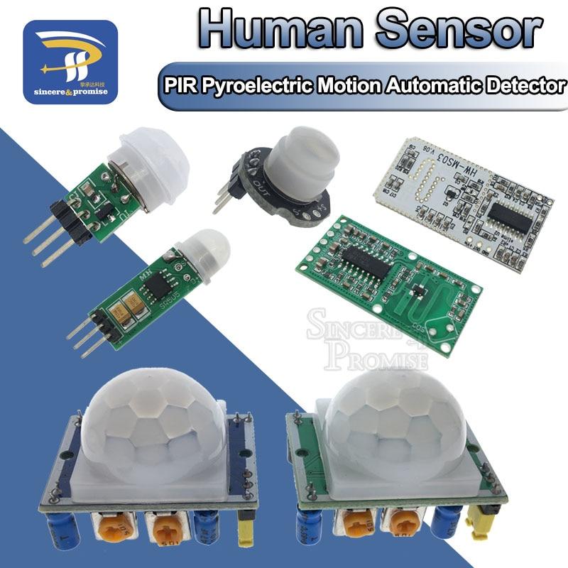 HC-SR501 HC-SR505 AM312 SR602 Adjust IR Pyroelectric Infrared Mini PIR module Motion Sensor Detector Module Bracket For Arduino(China)