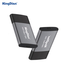 SSD portatile KingDian 120GB 250GB 500GB 1TB SSD esterno USB3.0 tipo C disco rigido esterno a stato solido per Desktop portatile