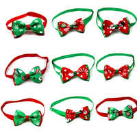 Di natale Pet Dog Cat Collare Bow Tie Laccio da Collo Regolabile Gatto Cani, Attrezzi Tolettatura Accessori Per Animali Pet Supplies Prodotto Pet orsacchiotto