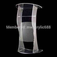 Деревянная мебель,, современный дизайн, дешевая прозрачная акриловая Трибуна, акриловая подставка