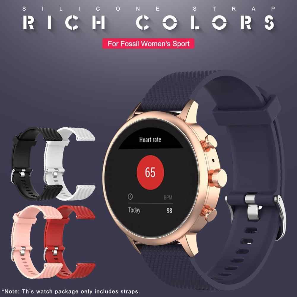 Horloge Band Voor 18 Mm Fossiele Vrouwen Sport Horloge Armband Horlogeband Voor Vrouwen Charter Hr Vrouwen Gen 4Q Venture Hr