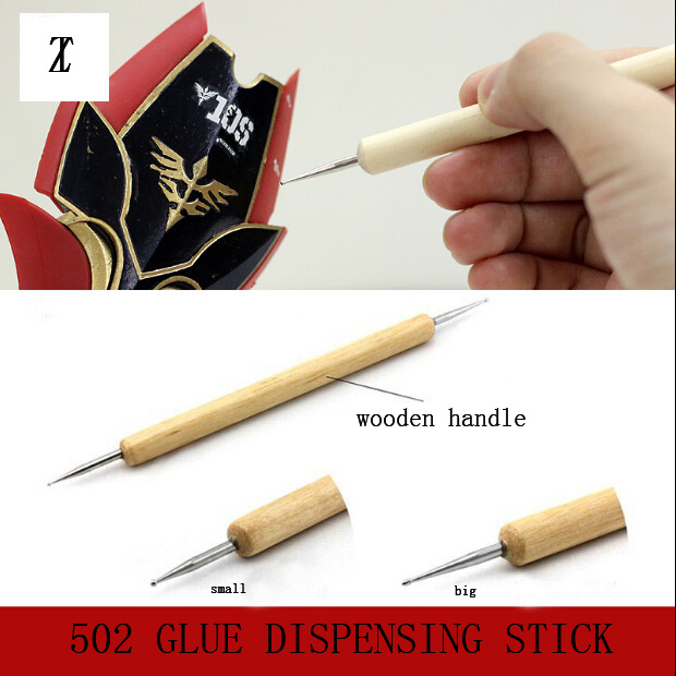 Model Making Tool 502 Glue Stainless Steel Precision Dispensing Dispensing Stick