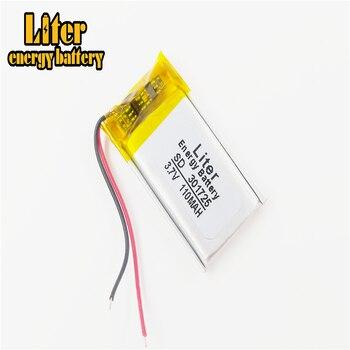 La mejor marca de batería 301725 110mah MP3/MP4/cámara de pluma/auriculares Bluetooth/batería de ratón inalámbrica