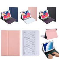 US Backlit Keyboard Case For iPad Air 3 iPad Pro 10.5 (2017) Tablet Case with Pen Holder Bluetooth keyboard Leather Tablet Coque