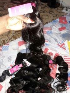 Image 5 - בלונד 613 שיער טבעי 3 4 9 יח\חבילה ברזילאי גוף גל שיער טבעי 8 26 רמי שיער הרחבות ערב jarin שיער Weave משלוח חינם