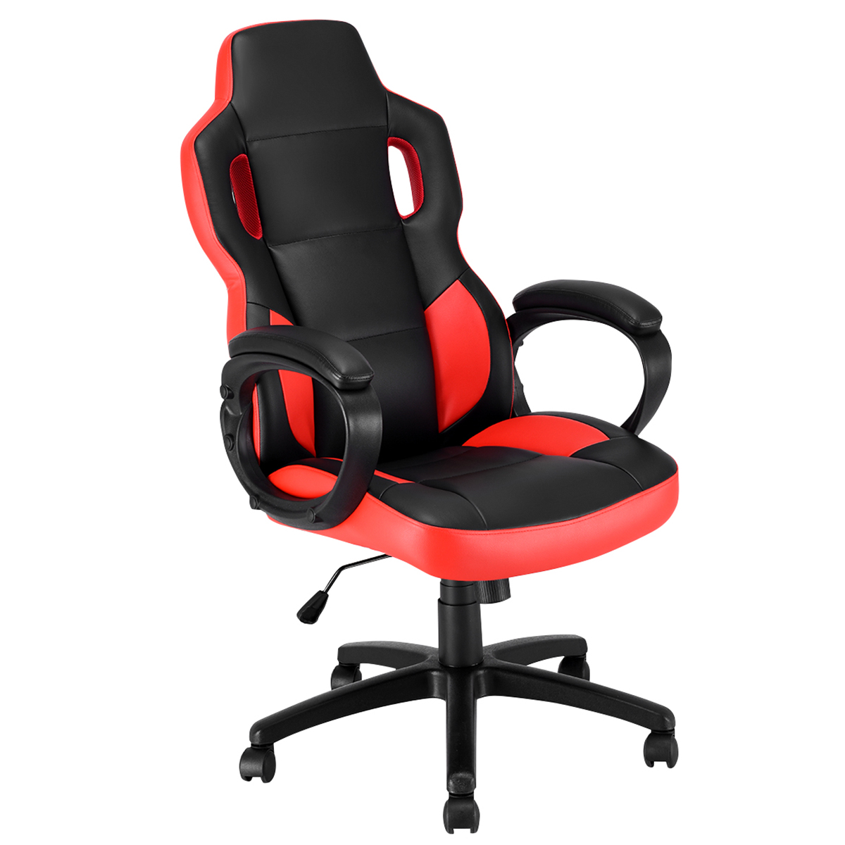 Costway Gaming Chair Executive Office Chair Racing Style Swivel Desk Task Computer Chair