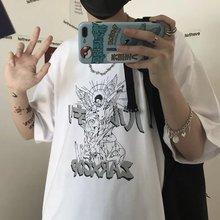 Винтажная Готическая графическая одежда в стиле Харадзюку рубашка
