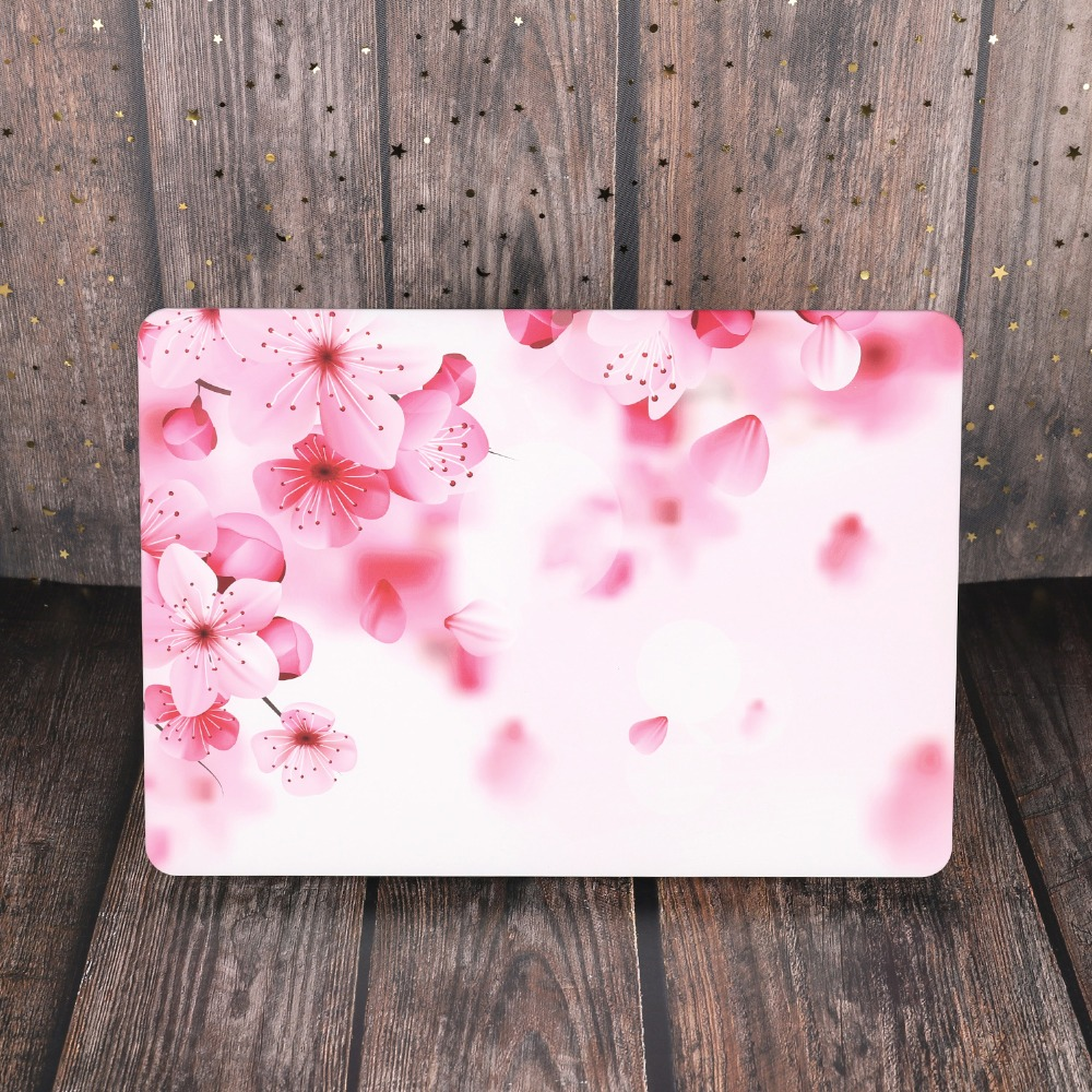 Marble Flower Bling Case for MacBook 88