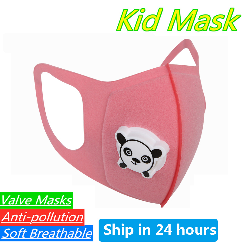 1pc Kids Cartoon Mouth Mask Cover Dustproof Breathable Face Mask Mouth Cove Nose Filter Cover For Children Kids Girls Boys