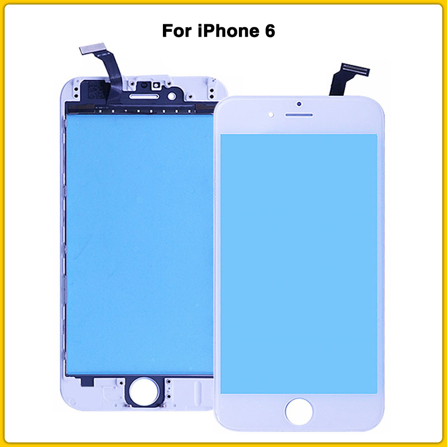 NEW 6G LCD Front Glass For iPhone 6 Touch Screen panel Digitizer front glass lens Replacement Outer Glass image