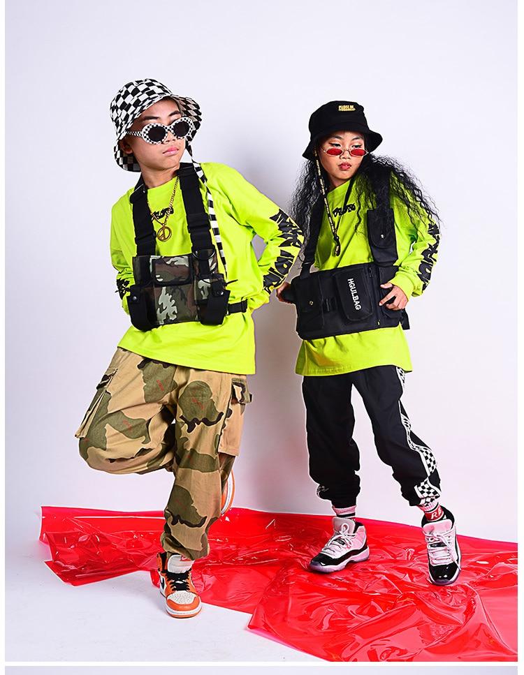 Meninas Dos Meninos das crianças Topos Fluorescentes