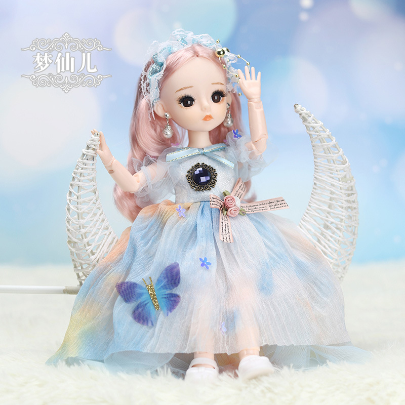 12 Inches Princess 30cm Joints BJD Suit Series Doll Toys for Girls Children Birthday Christmas Gifts 7