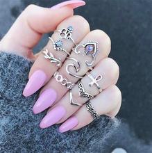 Кольца в стиле ретро готика змея кольца для женщин ювелирные