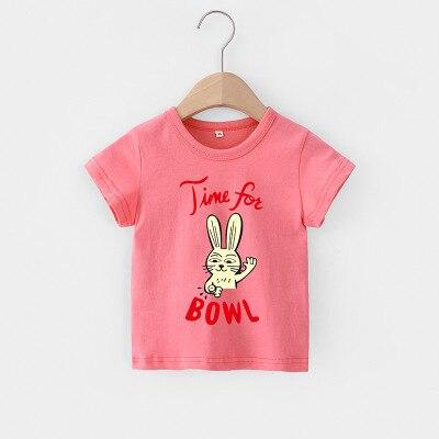 Hce1dd9888e3a471b84e731c6a86966f0M VIDMID Baby girls t-shirt Summer Clothes Casual Cartoon cotton s tees kids Girls Clothing Short Sleeve t-shirt 4018 06