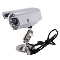 مقاوم للماء في الهواء الطلق CCTV كاميرا مراقبة فيديو فيديو DVR للرؤية الليلية تسجيل على بطاقة SD صغيرة مسجل خارجي DVR كام