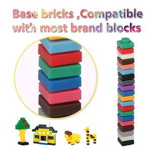 Image 3 - 1X1 Pixel Bakstenen 600 Pcs Creative Assembly Klassieke Bouwstenen Voor Mozaïek Art Ontwerpen Pixel Schilderen Bricks Speelgoed voor Volwassenen