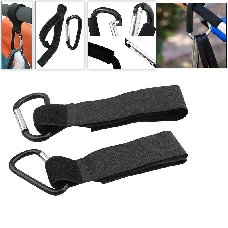 1 PCS Stroller Accessories Multipurpose Stroller Hook Shopping Cart Hook Prop Hanger Metal Convenient Hook