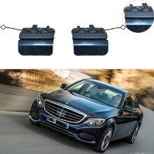 Parachoques trasero A2058850256 para coche, accesorio de corchete para Mercedes Benz C63, W205, AMG, C180, C200, C260, cubierta de ojo de remolque