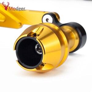 Image 5 - Modificado xmax traseiro protetor slider acidente guarda eixo traseiro silenciador tubo quadro caindo sliders para yamaha x max 300 400 125 250