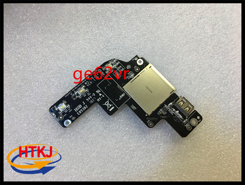 USB IO Board For MSI GE62VR GE72VR GP62VR GP72VR PE70VR PE60VR GL72VR GL62VR  Switch Board WITH CABLE MS-16JB2