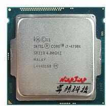 Intel Core i7 4790K i7 4790K 4.0 GHz Quad Core แปดด้าย CPU โปรเซสเซอร์ 88W 8M LGA 1150