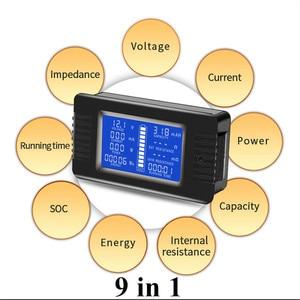 Image 5 - PZEM 015 200v 50A Battery Discharge Tester Capacity Power SOC Impedance Resistance Digital Ammeter Voltmeter Energy Meter
