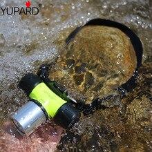 YUPARD 18650 батарея 3x AAA XM-L2 XM-L T6 светодиодный белый желтый свет 30 м Diver лампа для дайвинга фонарик водонепроницаемый открытый