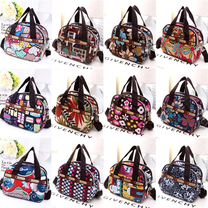 Hot Sale 12 Colors Women Multi Pocket Handbag Ladies Hobo Bags Shoulder Bag Colorful Totes