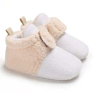 Shoes Toddler Soft-Sole Newborn Baby-Boy-Girl Winter Moccasins 0-18M Warm Casual
