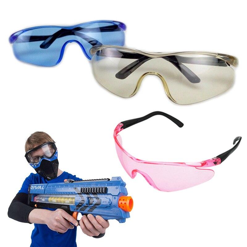 Очки защитные игрушечные унисекс, прочные защитные очки для игрушечного пистолета Nerf, уличные подарки для детей, для игр