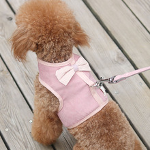Teddy Dog Traction Rope Small Medium-sized Dog Walking Dog Rope Chest Strap Dog Chain Bomei Pet Supplies Dog Leash walking the dog