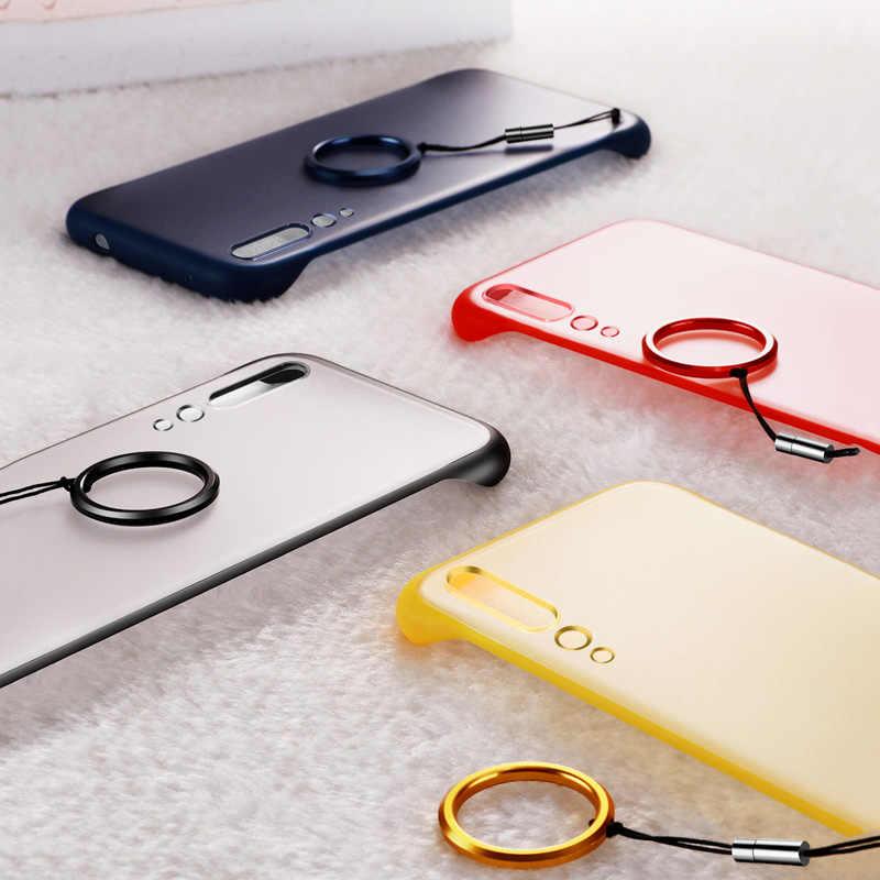 Чехол для huawei P30 Lite P20 mate 20X10 Pro, роскошный Бескаркасный Прозрачный чехол для телефона для huawei P Smart Plus Nova 5i 5