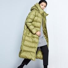 11.11 Original Design AIGYPTOS Winter Women Brief Casual Loose Hooded Puffer Jacket Office Lady Eleg