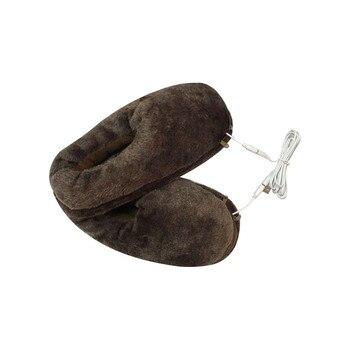 Zapatillas de invierno para hombre, zapatos de invierno con almohadilla térmica para invierno, zapatos de casa para interiores