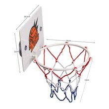 купить Portable Funny Mini Basketball Hoop Toys Kit Indoor Home Basketball Fans Sports Game Toy Set For Kids Children Adults Boys Gifts по цене 181.72 рублей