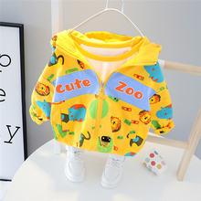 Демисезонное пальто для маленьких мальчиков и девочек модная