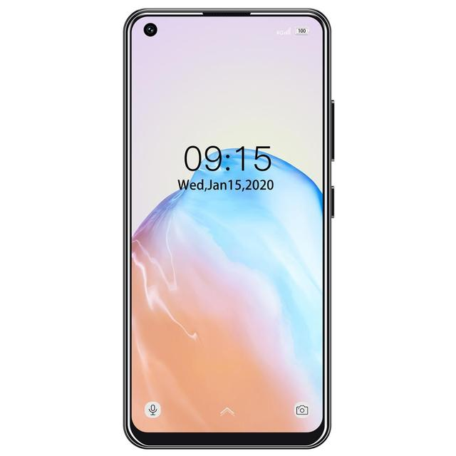 """4G LTE Android 9.0 Smartphone OUKITEL C18 Pro 4G RAM 64G ROM Mobile Phon 6.55""""HD  MTK6757 Octa Core 16MP 4 Cameras 4000mAh 5V2A 4"""